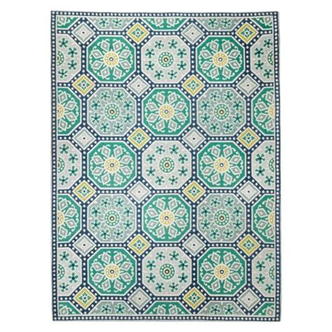 Threshold Indoor Outdoor Flatweave Mosaic Rug Target Target Indoor Outdoor Rugs