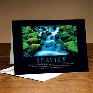 service waterfall 25 pack greeting cards by successories classic motivational cards