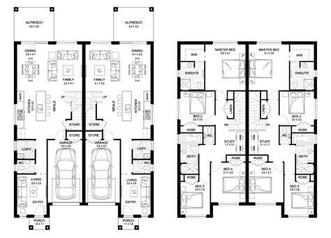 Floor Plans Duplex by Floor 53 Literarywondrous Duplex Floor Plans Image Ideas