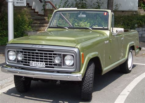 1973 jeep commando vintage monday the kaiser jeep jeepster commando off