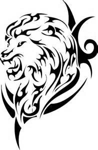 18 magnificent tribal lion tattoo only tribal