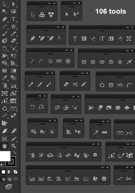 Custom Cc17 customizing the tool panel in illustrator cc 17 1
