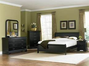 Black Furniture Bedroom Bedroom Designs Green Bedroom Backgroung Color Fancy