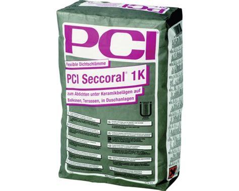 ausgleichsmasse aussen pci pci seccoral 1k grau 15kg bei hornbach kaufen