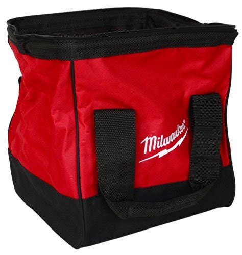 milwaukee heavy duty contractors bag 11x11x10 import it all