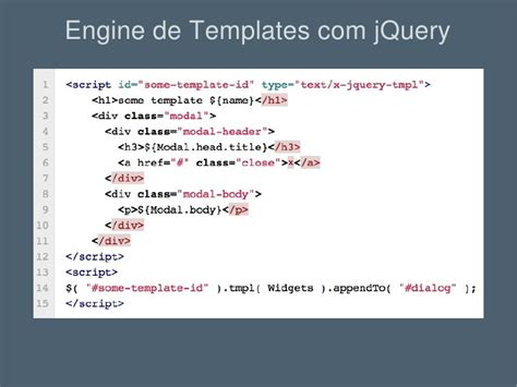 jquery template engine engine de template em javascript html sprites