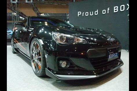subaru brz black subaru brz black edition by prova from the tokyo auto