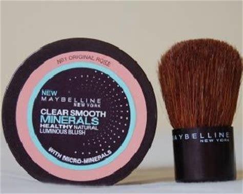 Bedak Maybelline Clear Smooth sembunyikan jerawat dengan bedak mineral dari maybelline