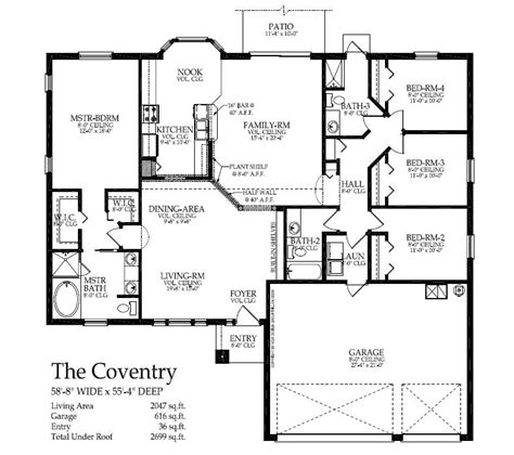 energy custom homes floor plans