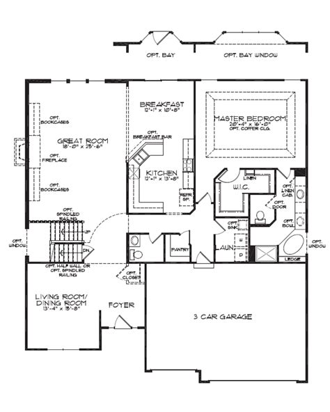 1 and 1 2 story floor plans floorplan