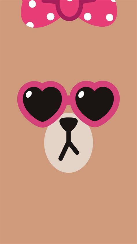 wallpaper cute line choco line friends fondos para mi iphone pinterest