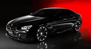 wald transforms bmw m6 gran coupe into a black bison