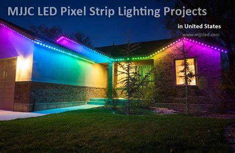 led light strips for homes 12v ucs1903 color led pixel lights mjjcled