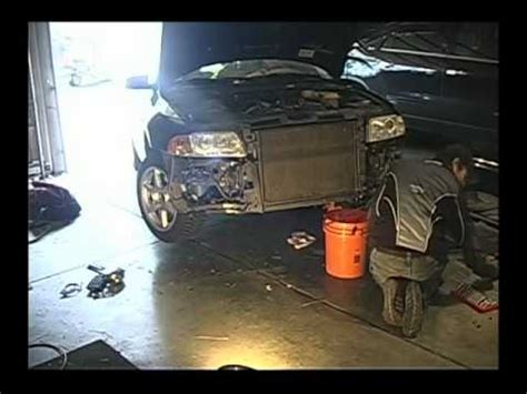 Audi A4 B5 Sto Stange Vorne Abbauen by Audi A4 Front Disassembly Youtube