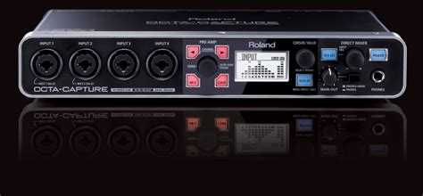 Usb Audio Capture roland octa capture hi speed usb audio interface