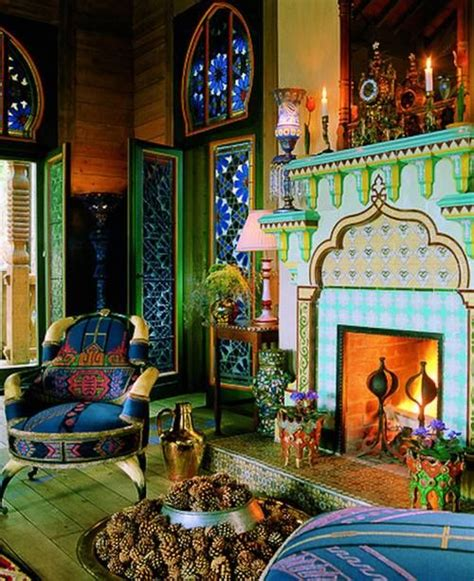 moroccan home decor and interior design boho decor bliss bright color hippie bohemian mixed pattern home decorating ideas