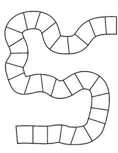 blank race track template diy board on dice board and