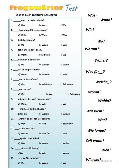 Bewerbungsgesprach Englisch Fragen Und Antworten Fragew 246 Rter Arbeitsblatt Kostenlose Daf Arbeitsbl 228 Tter