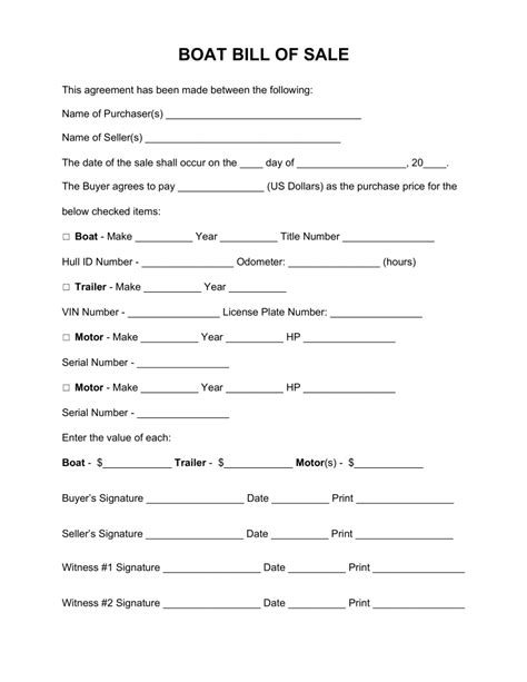 ms word bill of sale template and birthday invite word checklist
