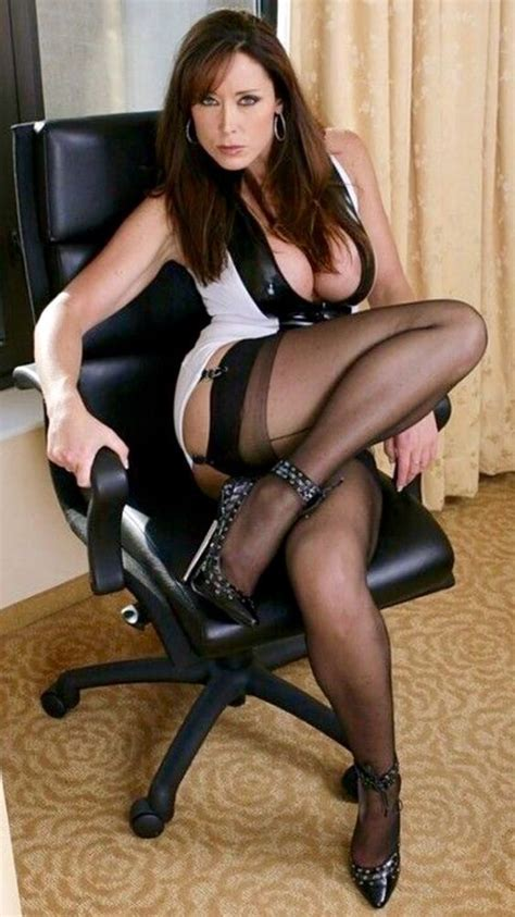 beautiful asian with legs in seamed in dress with heels seamed