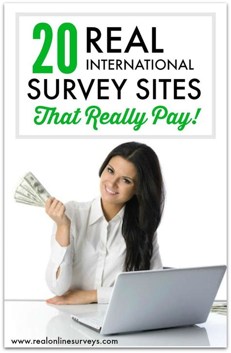 Paid Surveys For Money - top 20 international paid surveys for making money online