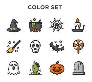 free halloween vector icons pixlov