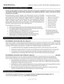 Facility Engineer Sle Resume by Information Security Manager Resume Sle Bestsellerbookdb