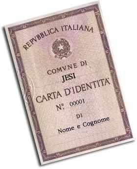 comune di jesi ufficio anagrafe comune di jesi carta di identit 224 cartacea
