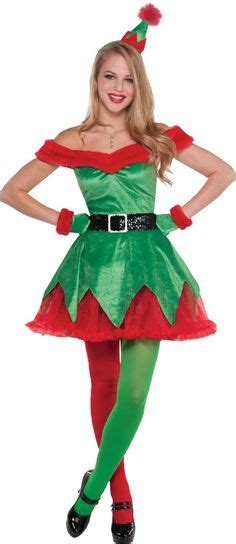 Holiday honey elf costume for women party city