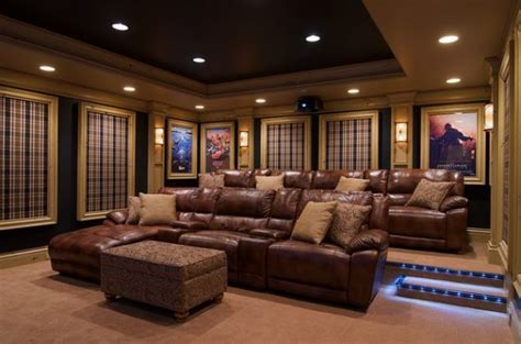 movies living room theater how to make tartan work in a living room