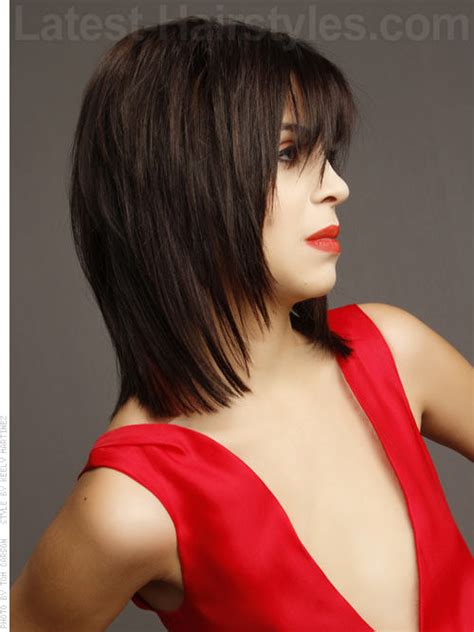shag haircut rocker style 45 chic medium shag hairstyles haircuts for women 2018
