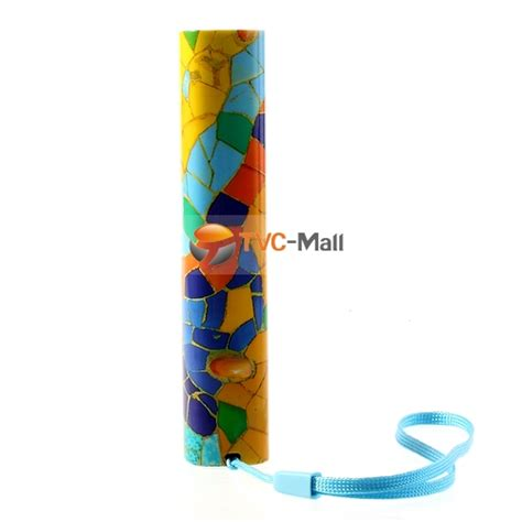 pattern energy contact 3000mah celltu colored stone road pattern energy stick