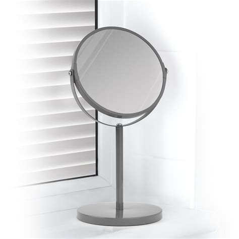swivel bathroom mirrors bedroom sets product all products beldray tall swivel mirror grey home mirrors b m