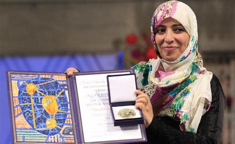 imagenes de tawakkul karman columnista egipcio acusa a la premio nobel de la paz