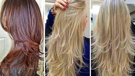 cortes de cabello largos modernos youtube cortes de cabello largo modernos para jovenes mujeres 2017