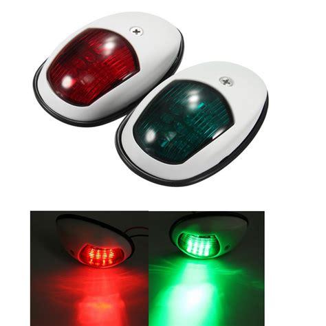 led lights marine a pair 12v 10w bow side navigation marine lights led