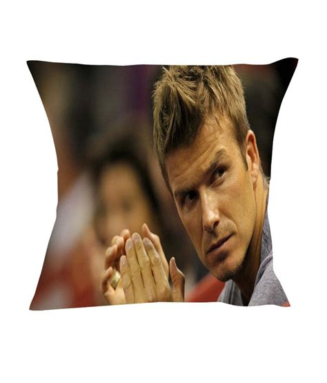 Clear Stock Beckham Rc1007 holicshop david beckham high definition cushion cover buy at best price snapdeal