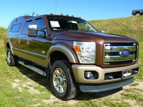 2012 Ford F250 Diesel V8 King Ranch, Used diesel truck for