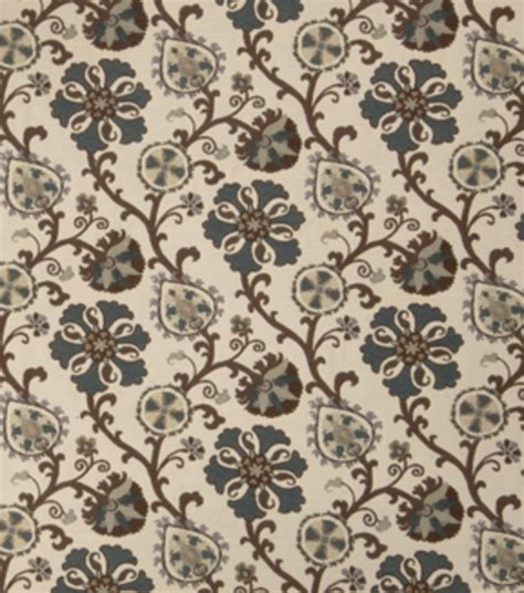 home decor print fabric eaton square oprah teal at joann