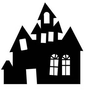 Haunted House Outline by Printable Haunted House Silhouette Www Imgkid The Image Kid Has It