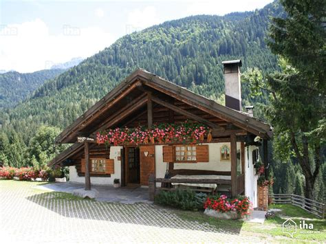 baita di montagna con camino chalet in affitto a madonna di ciglio iha 11196