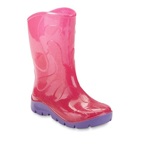 toddler pink boots skeeper toddler s pink purple glitter boot