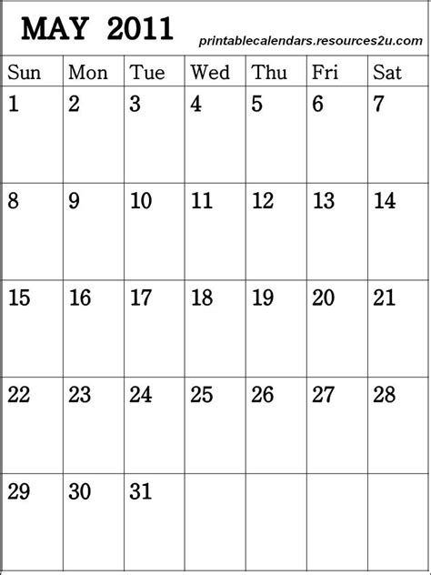 Printable Calendar Vertical 2015 | free 2015 calendars printable vertical blank calendar may