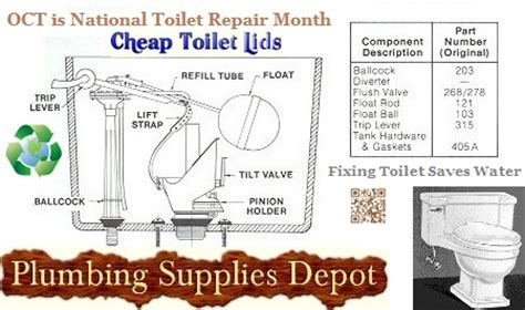 october is national toilet repair month sleep better at