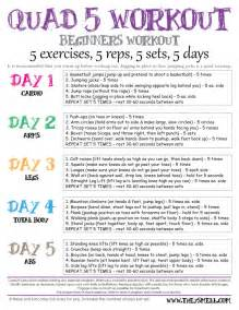 we all have to start somewhere workout plan for beginners
