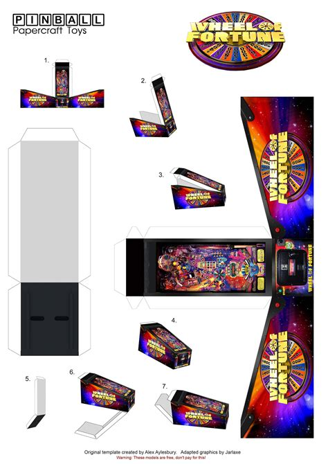 Papercraft For Sale - gopinball view topic pinball papercraft toys