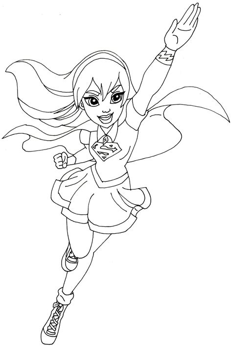 printable heroes how to free printable super hero high coloring pages supergirl