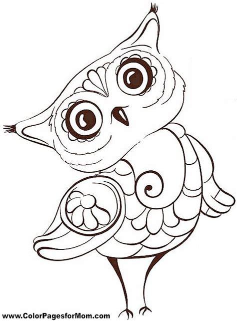 printable owl mandala 70 best adult coloring corner images on pinterest adult