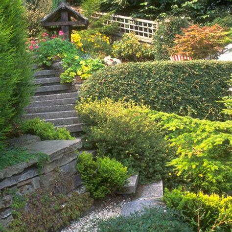 ideas  jardines modernos