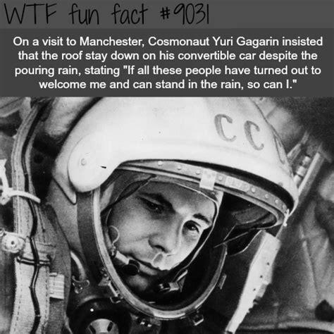 yuri gagarin wtf fun facts wtf facts